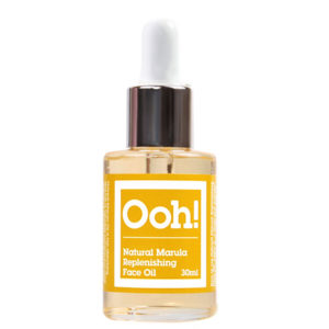 ooh oils of heaven natural marula replenishing face oil 30ml