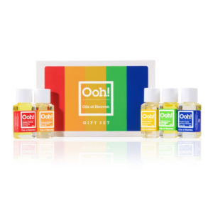 ooh oils of heaven gift set 5 x 5ml