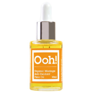 ooh oils of heaven organic moringa anti oxidant face oil 30 ml