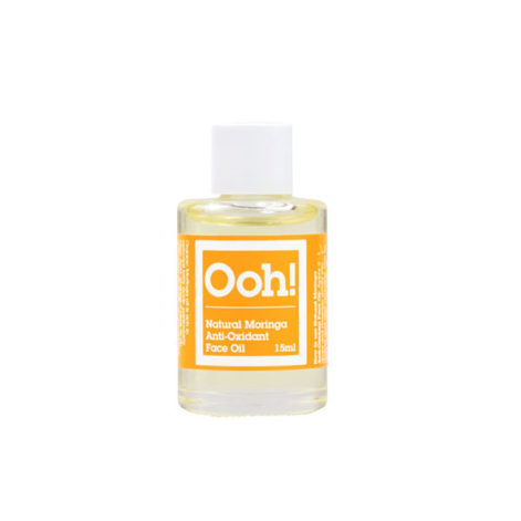 ooh oils of heaven organic moringa anti oxidant face oil travel size 15ml