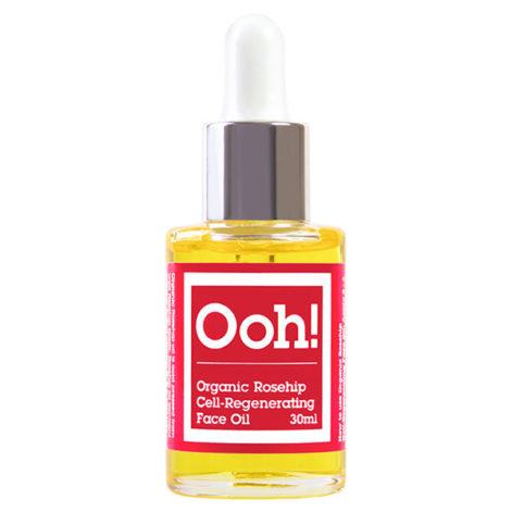 ooh oils of heaven organic rosehip cell regenerating face oil 30 ml