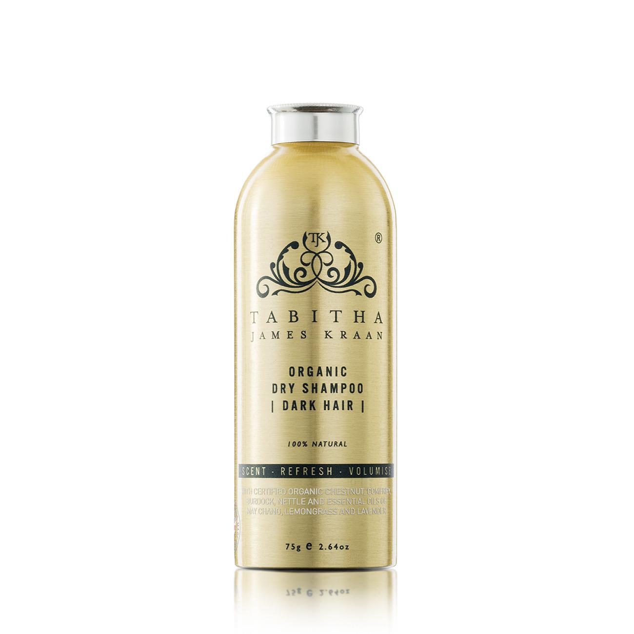 Tabitha James Kraan Dry Shampoo For Dark Hair Eluxe