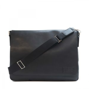 Davi - Black Messenger Cross Bag
