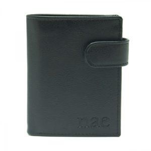 Denver - Black Wallet With A Coin Pocket