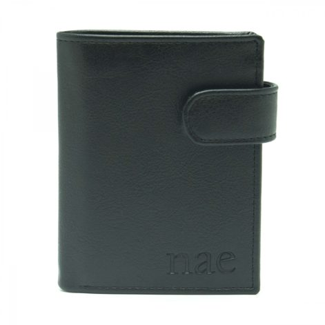 Denver - Black Wallet With A Coin Pocket