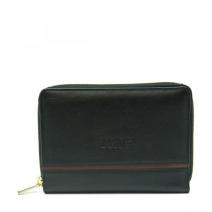 Eva - Black Wallet With Card Slots