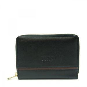 Eva - Black Wallet With Card Slots