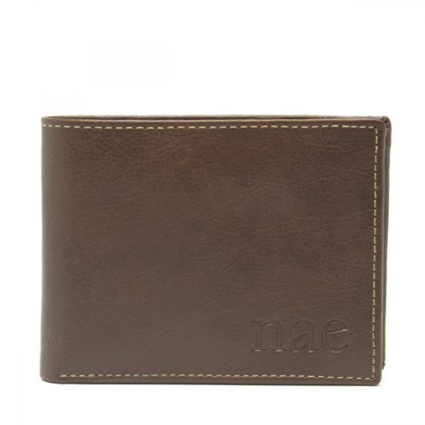 Lyon - Brown Wallet With A Coin Pocket