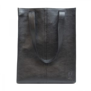 Noemi - Black Tote Bag With Small Pocket