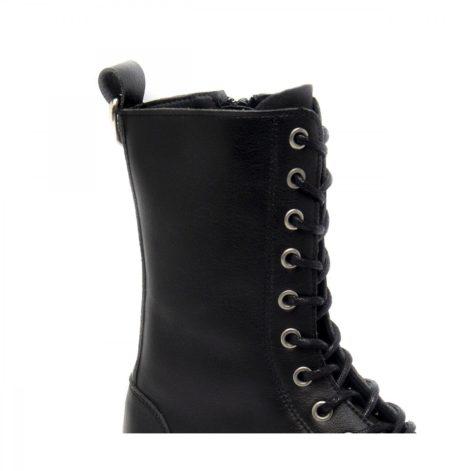 lace up vegan boots